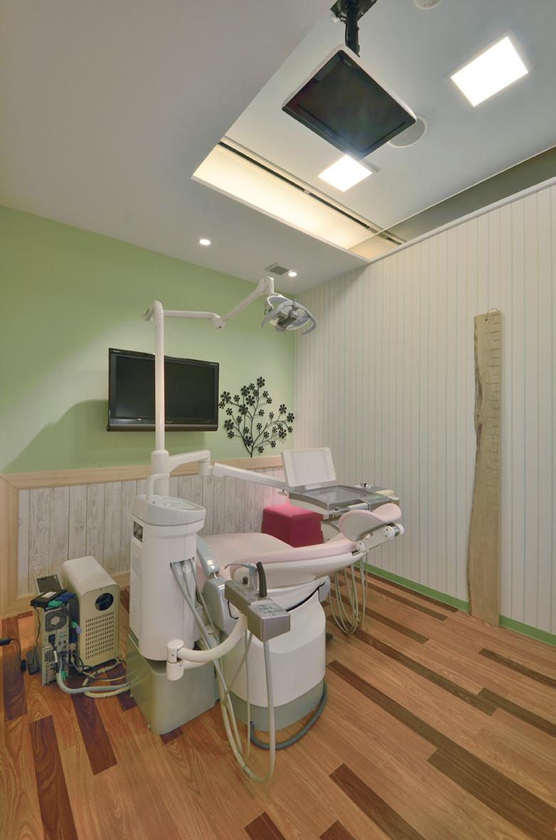 こどもの歯医者さん|エーハンドデザイン株式会社 歯科内装デザイン設計事例