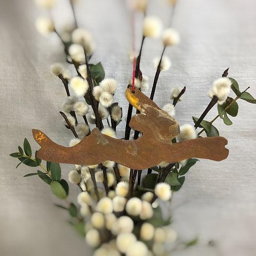 Deko-Hase (springend 4 klein)