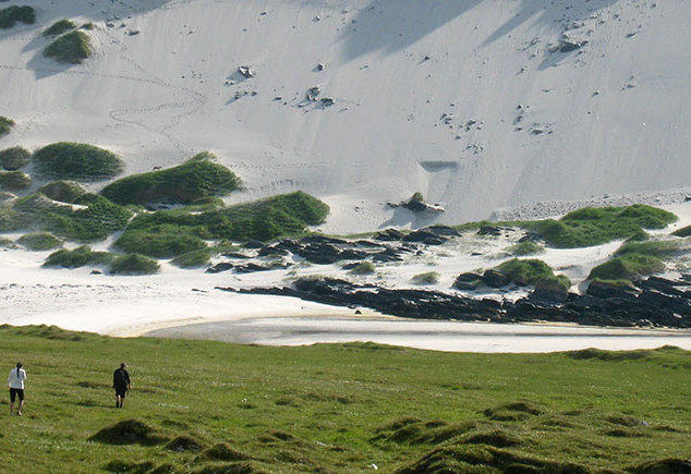 Kulku Storsanden-rantaan Sørøyalle