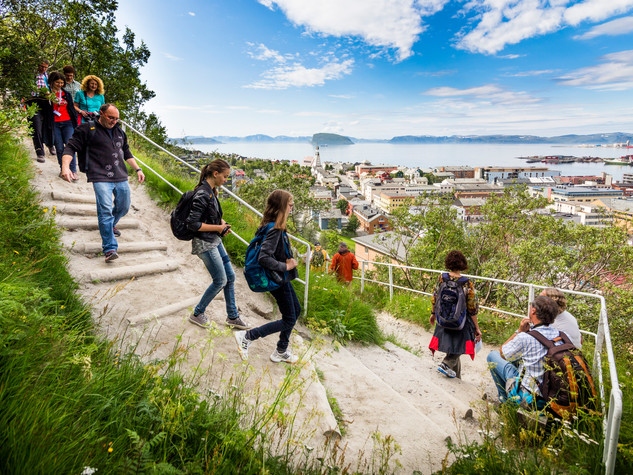Hammerfest: Zig Zag veien