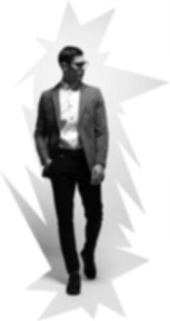 Benson cherry bensonandcherry blazer mode homme classique photo n/b