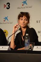 Stefania Cristian actriu al film Lux Aeterna