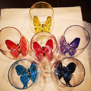 Brigitte, Corinne et les papillons