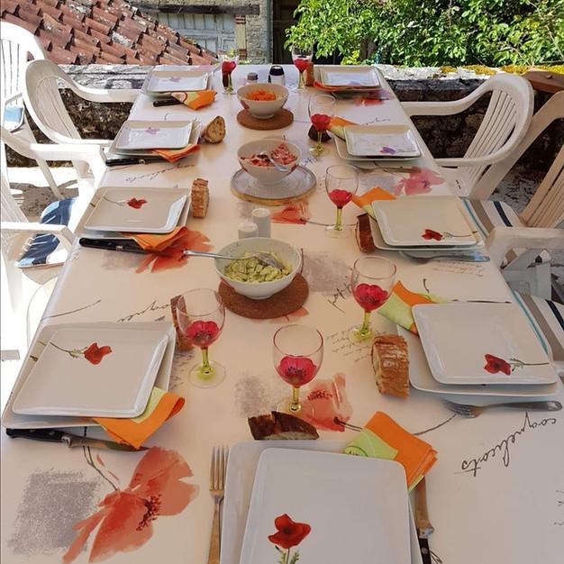 Aure et sa Magnifique table