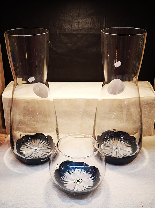 Carafe / Vase Anémone ou couleur au choix