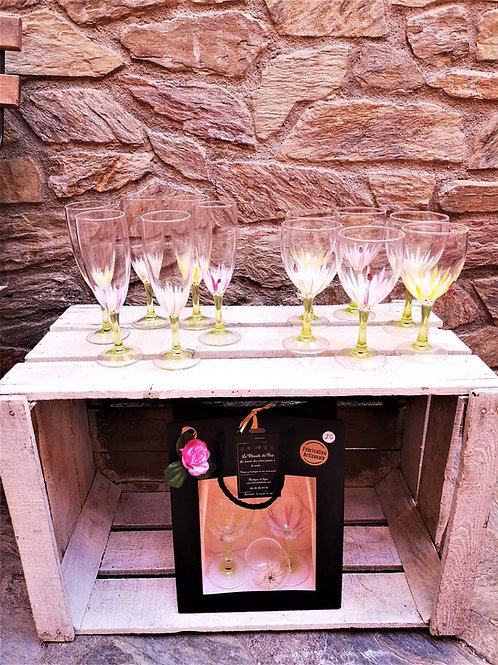 """Bouquet 6 Vin """"Coccinelle et Marguerite"""""""