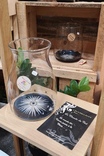 Vase Décoratif Fleur Anémone ou couleur au choix