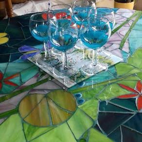 Photo Cliente Fleur Turquoise