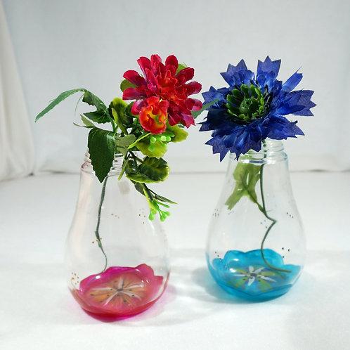 Vase Soliflore Fleur couleur au choix