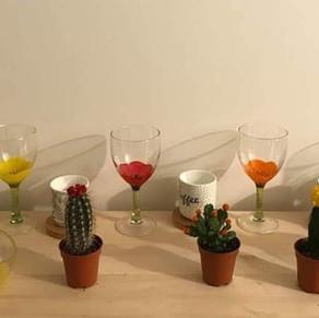 Héloïse coquelicots et cactus