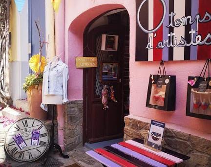 """Collioure Boutique Créateur """"O Temps d'Artistes"""""""