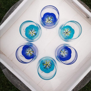Géraldine aime le bleu