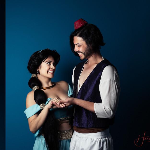 Arabian Princess & Prince