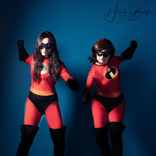 Super Mom and Daughter
