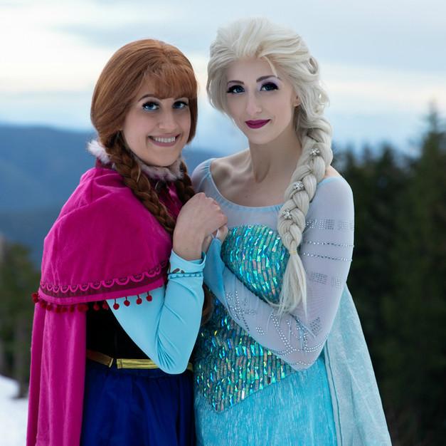 Snow Sisters- Original dresses