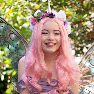 Pink Unicorn Fairy