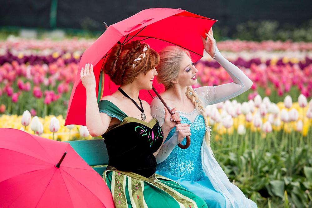 Kirsten, on the left, Cassandra on the Right