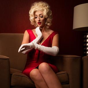 Marilyn- Red Dress