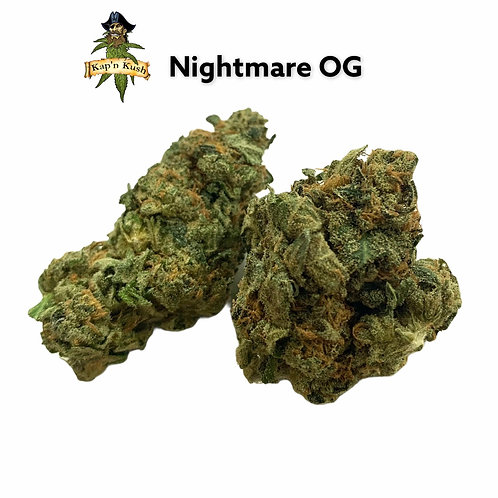 Nightmare Og   AA   26%THC   INDICA HYBRID