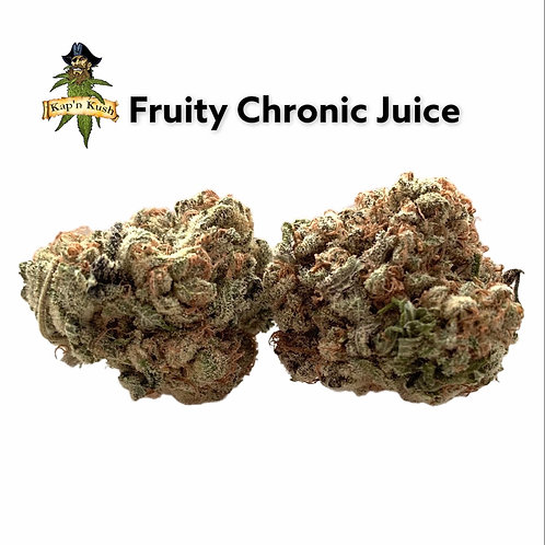 Fruity Chronic Juice   AA   26%THC   Indica