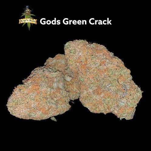 Gods Green Crack (AAAA) 29%THC - hybrid
