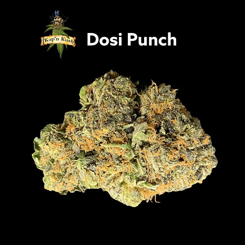 Dosi Punch   AAA   27%THC   INDICA