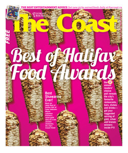 The Coast: Best of Food - Cover