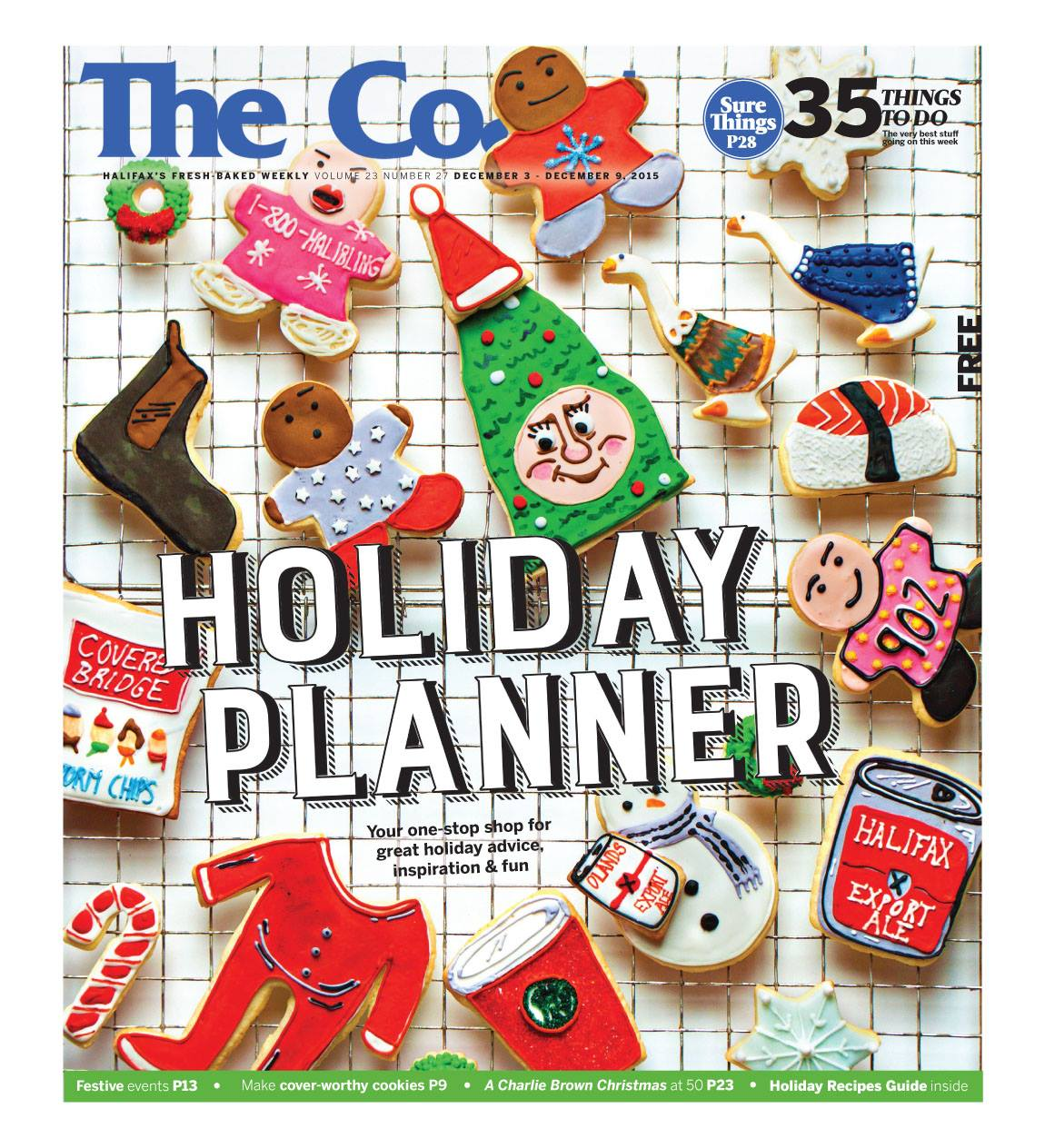 Holiday Planner Cover Feature