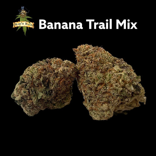Banana Trail Mix | AAAA+| 30%THC | Sativa Hybrid