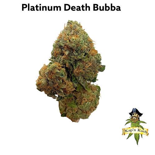 PLATINUM DEATH BUBBA (AAAA) 29% THC -INDICA