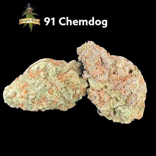 91 Chemdog AAAA ( 29%THC) - Hybrid