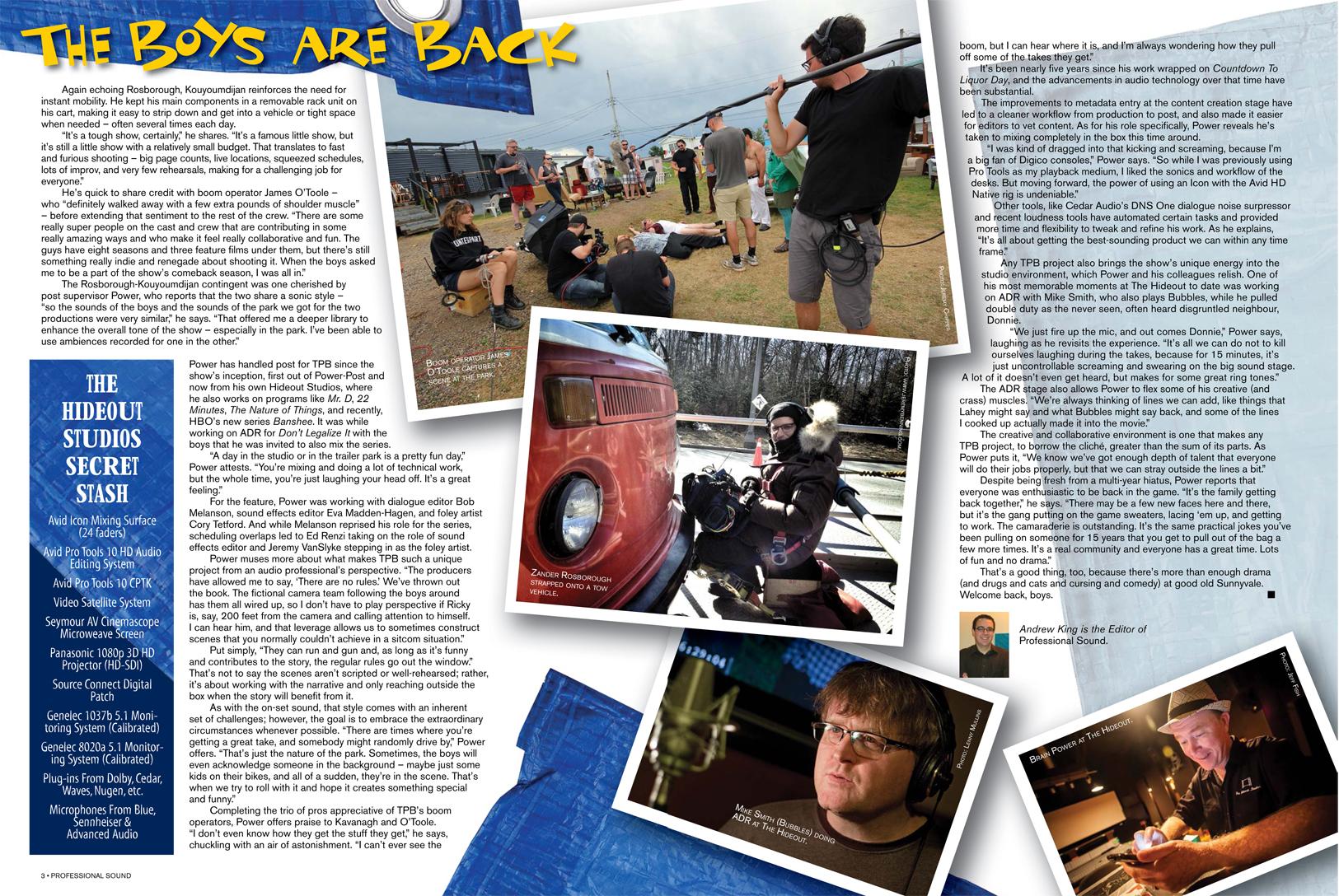 Professional Sound Magazine