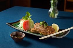 Soft Tofu and Chicken Tsukune