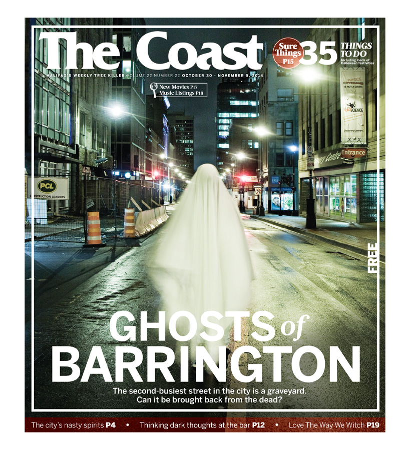 'Ghosts of Barrington' Cover Feature