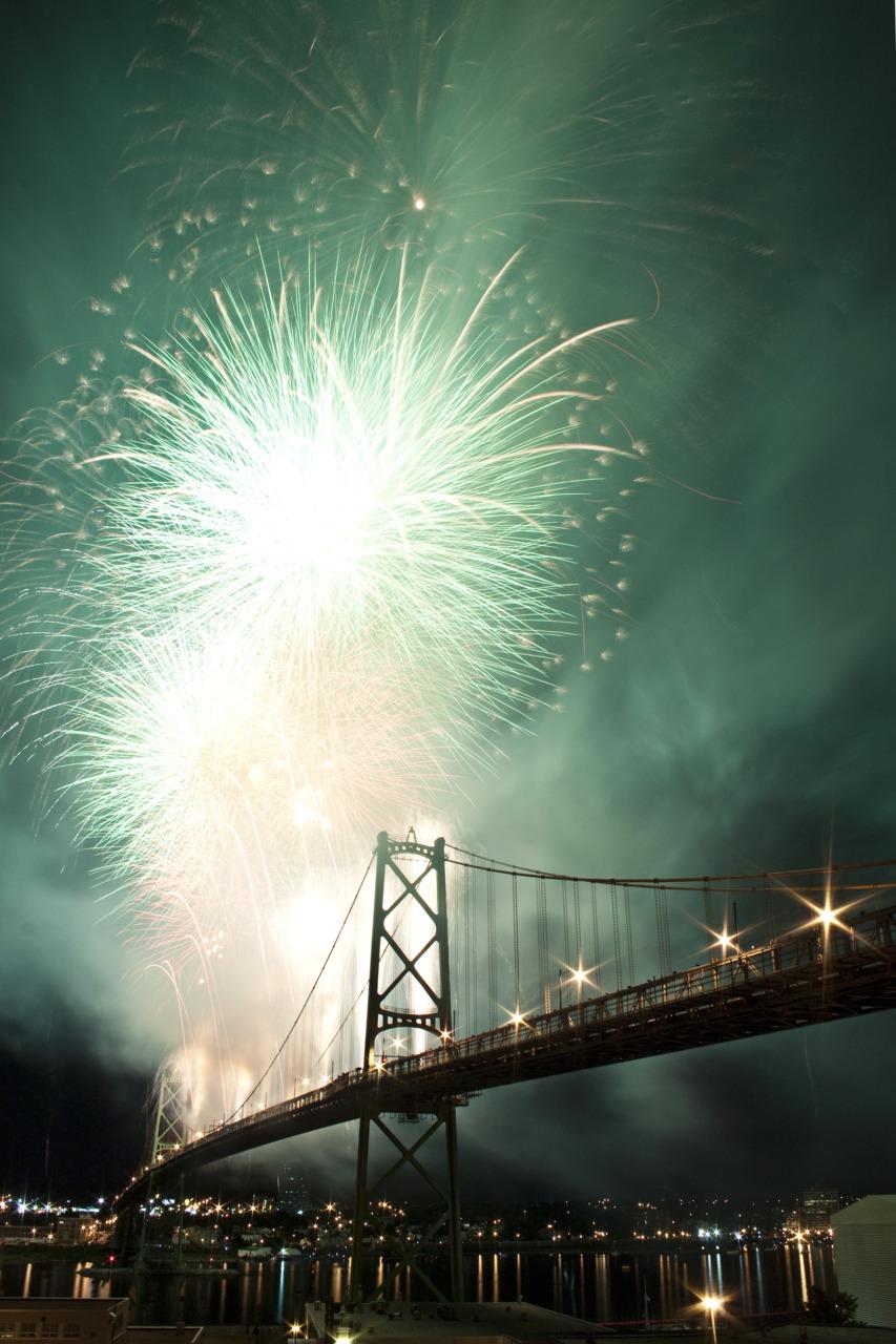 Natal Day Fireworks