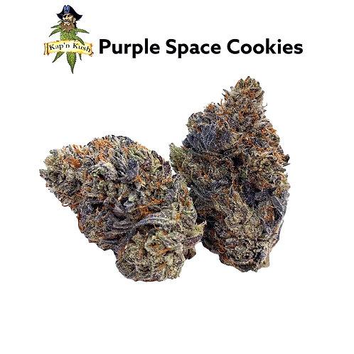 Purple Space Cookies (AAAAA) 30%THC - INDICA