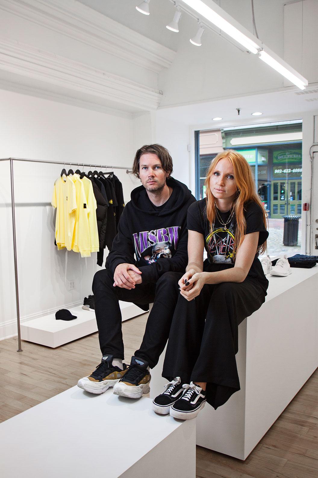 Pete MacDonald and Kristi Smith