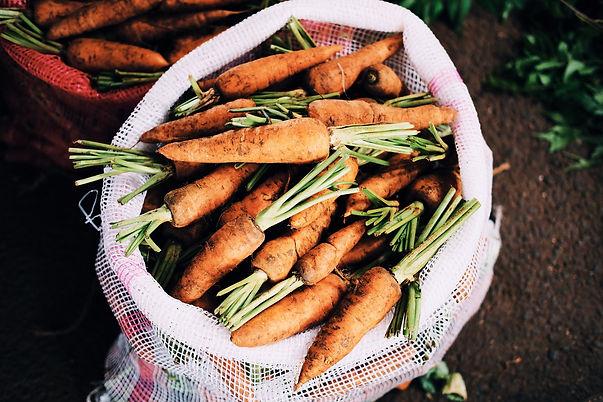 Fresh Organic UK Carrots