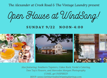 OPEN HOUSE: The Alexander at Creek Road and WindSong Barn