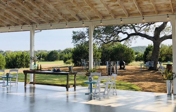 Wedding venue with lodging Austin Texas
