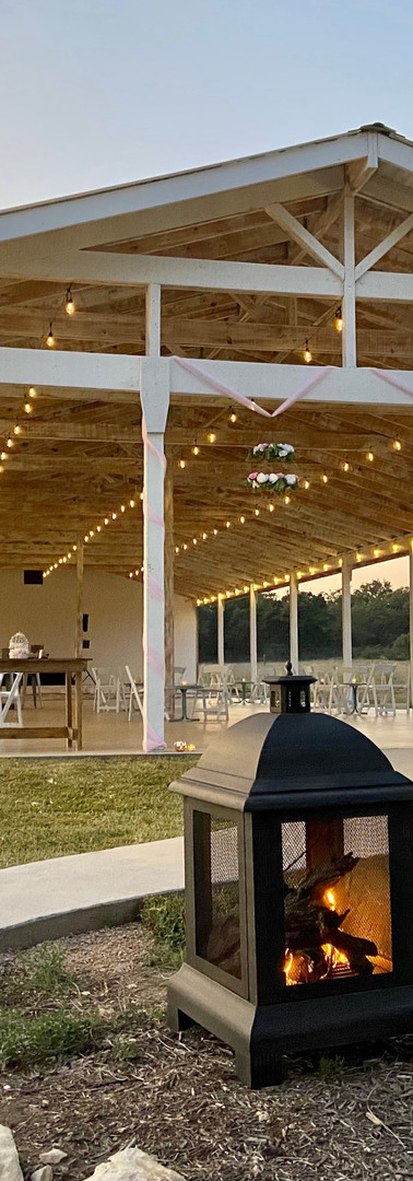 WindSong Pavilion at The Alexander at Creek Road in Dripping Springs, Texas, just south of Austin, provides multiple options for celebrations indoors and outdoors, for over 200 guests
