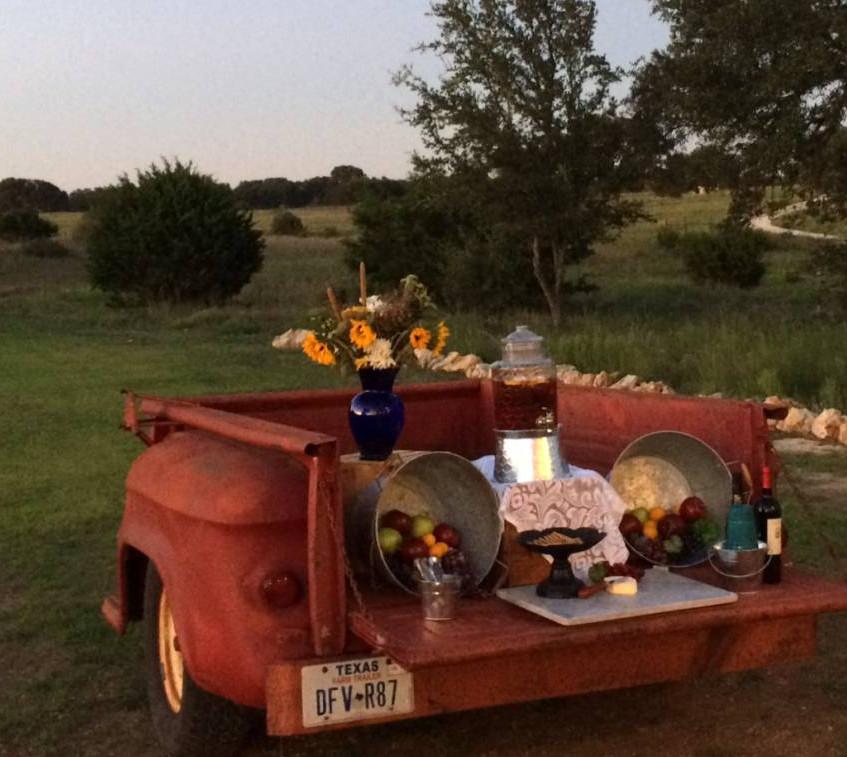 Barn wedding central Texas