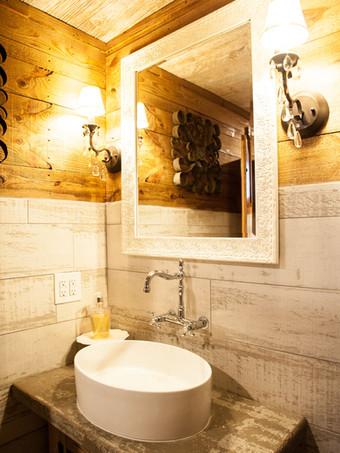 Bathroom 1 of 5 at WindSong Barn