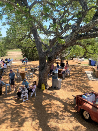 Outdoor Event Space next to WindSong Pavilion in Dripping Springs