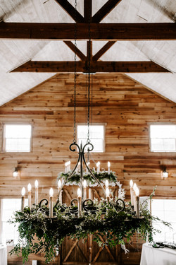 Chandelier Vines at WindSong Barn at The Alexander at Creek Road in Dripping Springs