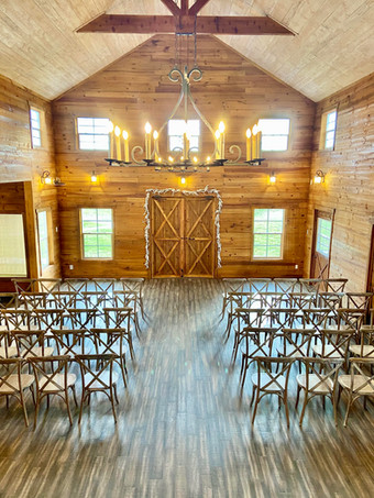 Meeting space in Dripping Springs WindSong Barn at The Alexander at Creek Road