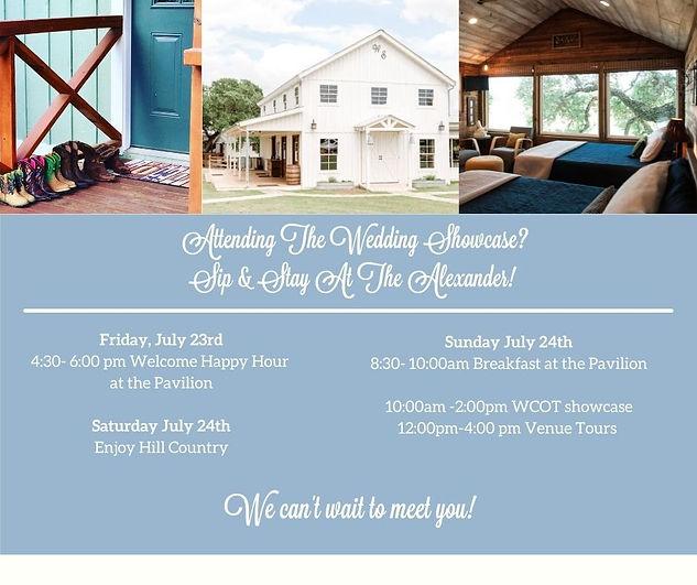 Wedding Venue Open House Weekend