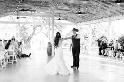 At WindSong Pavilion by Becca Paige Photography at this Texas Wedding Venue with Overnight Accommoda