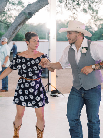 Dancing at the Pavilion by Holly Marie Photography at The Alexander at Creek Road Hotel and Event Venue Dripping Springs, Texas