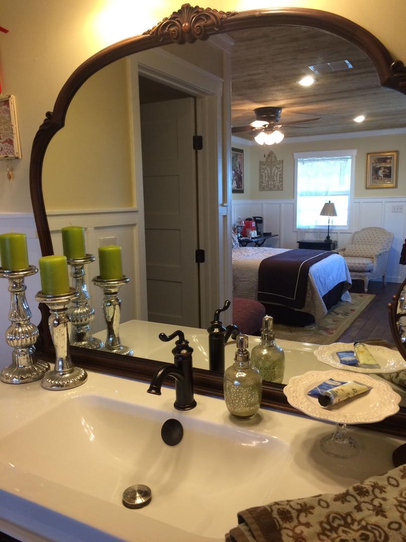 The Guest Quarters hotel suite